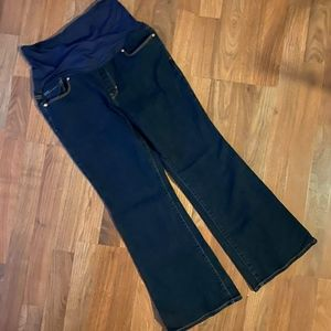 GAP Maternity Sexy Boot Jeans